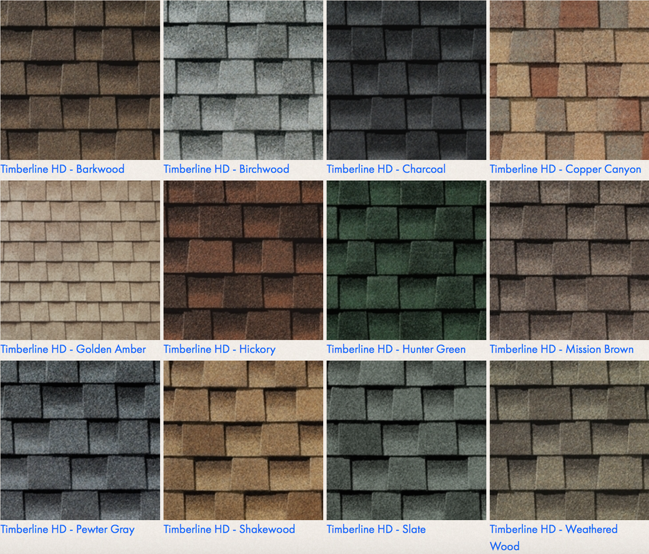 Blog d d construction inc puyallup roofing for Roof colors